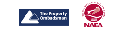 The Property Ombudsman, NAEA and ARLA logos
